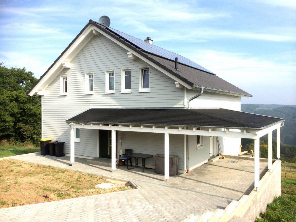 Schlüsselfertiges Holzhaus in Scheuren – WAB Holzbau